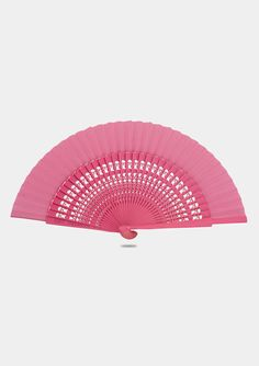 Abanico Rosado 23 cm- Size 9 inches 23 cm - Color: Fuchsia - Spanish Flamenco Wooden Hand fan Pink - Made in Spain - Handmade - Wooden Hand Fan made of fabric and wood cotton, nylon) Wooden Hand, Handmade Wooden, Hand Fans, Mother Of The Bride, Wedding Showers, Hands, Bride Dresses, Outdoor Decor, Fabric