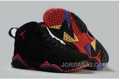 http://www.jordanaj.com/denmark-nike-air-jordan-vii-7-retro-mens-shoes-sale- black-red.html DENMARK NIKE AIR JORDAN VII 7 RETRO MENS SHOES SALE BLACK RED  ...