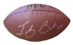 Arizona Wildcats Tedy Bruschi signed NFL Wilson full size football w/ proof photo.  Proof photo of Tedy signing will be included with your purchase along with a COA issued from Southwestconnection-Memorabilia, guaranteeing the item to pass authentication services from PSA/DNA or JSA. Free USPS shipping. www.AutographedwithProof.com is your one stop for autographed collectibles from U of A Wildcats & NCAA sports teams. Check back with us often, as we are always obtaining new items.