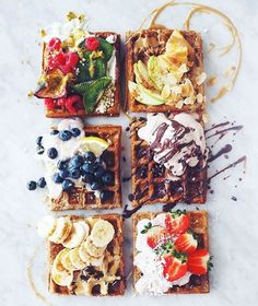 Summer Sunday waffles