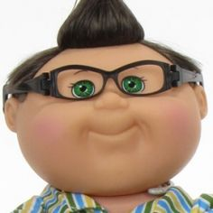Halloween costumes with glasses -Cabbage Patch Kid Halloween Costumes Glasses, Costumes With Glasses, Halloween Costumes For Kids, Happy Halloween, Childrens Glasses, Kids Glasses, Eye Glasses, Cabbage Patch Kids Costume, Cabbage Patch Babies