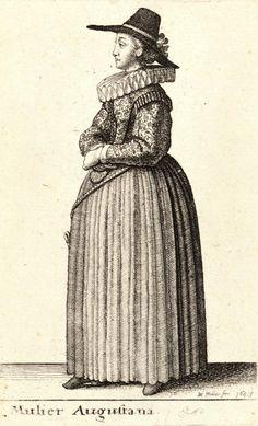 "Wenceslas Hollar, 1643 ""Mulier Augustana"""
