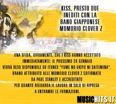 Nuova sfida per i Kiss !!