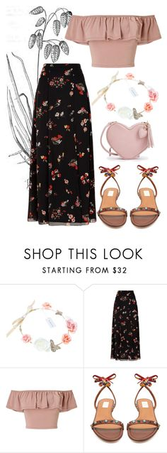 """When Your Mind's Made Up"" by maananb ❤ liked on Polyvore featuring RED Valentino, Miss Selfridge and Valentino"