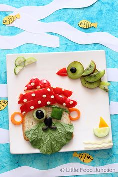 Little Food Junction: Pirate day