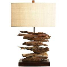 Palecek Driftwood Stick Lamp