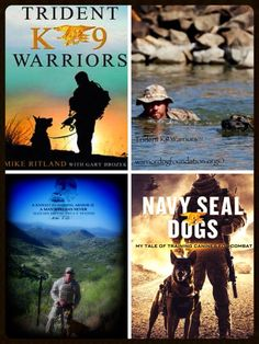 #mikeritland Trident K9 Warriors & Navy SEAL Dogs