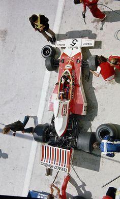 Emerson Fittipaldi, Mclaren M23 @ Belgian Grand Prix 1974