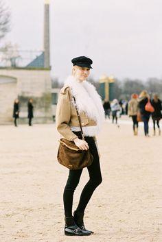 Manteau oversize imitation mouton retourné Femme | OUTLET