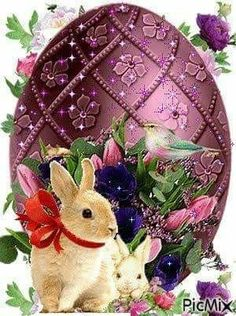 Zdrowych Wesołych Świąt Wielkanocnych Easter wishes Easter Art, Easter Crafts, Easter Bunny, Easter Eggs, Happy Easter Gif, Happy Easter Wallpaper, Easter Messages, Easter Wishes, Ostern Wallpaper
