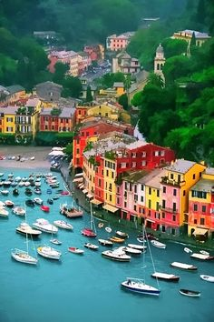 Portofino, Italy  Loved this place. Lots of fun shops.