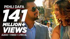 Pehli Dafa lyrics in Hindi: This is a romantic song which is beautifully sung by Atif Aslam. New Hindi Songs, Hindi Movies, Popular Song Lyrics, Atif Aslam, Songs 2017, Song Status, Bollywood Songs, Romantic Songs, Music Download