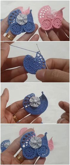 crochet tutorial Crochet Baby Stroller Applique Hkeln Sie Baby Kinderwagen Applique Source by CrochetKnitDIYSewing Crochet Motifs, Thread Crochet, Love Crochet, Crochet Crafts, Crochet Yarn, Crochet Flowers, Crochet Toys, Crochet Stitches, Crochet Projects