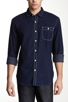 What Goes Around Comes Around Dotiki Dotted Shirt by Closet Staple: Men's Shirts on @HauteLook