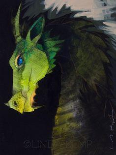 "6"" x 8"" acrylic New Words, Digital Image, Blue Eyes, Beast, Original Paintings, Artwork, Animals, Work Of Art, Animaux"