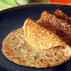 A south Indian savory pancake made with bread, often made for breakfast with a good serving of a spicy chutney !!