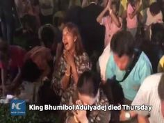 Thailand's King Bhumibol Adulyadej died in hospital on Thursday. He was 88. Many people are gathering at Siriraj Hospital in the capital Bangkok where the king had been staying. They're crying as the news of his death broke. King Bhumibol, the world's longest-reigning monarch, is widely revered in Thailand.