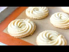Butter Swirl Shortbread Cookies are a great recipe for Christmas cookies and holiday baking. They taste like the Royal Dansk Danish butter cookies!