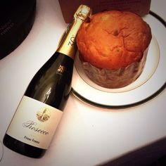 Primo Franco prosecco, slightly sweet, perfect with panettone or even a spicy stir fry