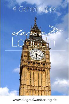Secret London: 4 Geheimtipps für die britische Hauptstadt