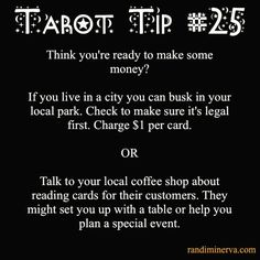 Randi Minerva | ★ Tarot Tips for the 21st Century Witch ★ | Page 3