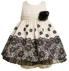 Ivory and Black Lace Border Print Shantung Dress IV0NN,Bonnie Jean Baby-Newborn Special Occasion Flower Girl Party Dress Bonnie Jean,http://www.amazon.com/dp/B00DW1TGU4/ref=cm_sw_r_pi_dp_sUAesb1DCA20KJTF