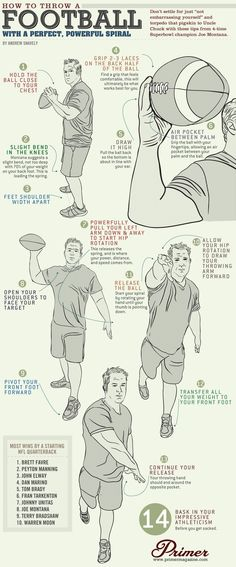 How to Throw a Football with a Perfect, Powerful Spiral