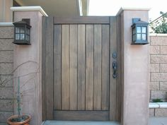 Premium Wood Gates built with Garden Passages satisfaction guarantee and turn-key service have stood as the industry benchmark for over ten years. Wooden Garden Gate, Garden Gates, Backyard Gates, Backyard Ideas, Side Walkway, Porch Gate, Wood Doors, Wood Gates, Gate Hinges