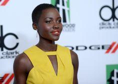 Lupita Nyong'o - Arrivals at the Hollywood Film Awards — Part 2