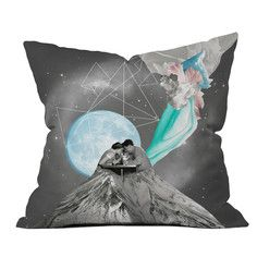 Future Is Blue Pillow Cover, $39, now featured on Fab.