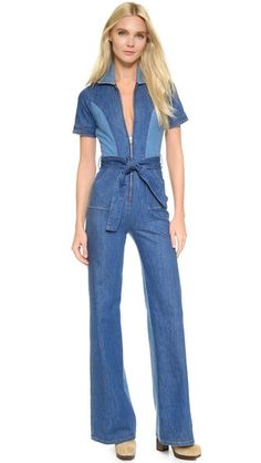 c5ad68392c97 Stoned Immaculate Blue Jean Baby Jumpsuit Jeans Jumpsuit