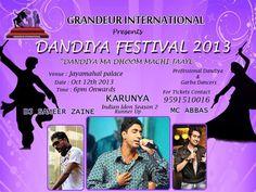 Grandeur Dandiya Festival in Bangalore... http://www.buzzintown.com/bangalore/events/grandeur-dhandiya-festival/id--828750.html #events #Bangalore