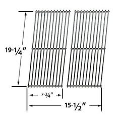 Cooking Grid for Perfect Flame Perfect Flame Perfect Flame Perfect Flame 225203 Gas Grill Models, Set of 2 Grill Parts, Grid, Grilling, Cooking, Model, Kitchen, Crickets, Scale Model