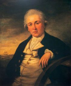 Portrait of a Naval Officer  (previously said to be Adam Duncan, 1st Viscount Duncan of Camperdown, 1731–1804)  by Tilly Kettle