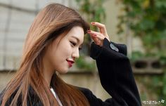 Kim Doyeon, Ioi, Long Hair Styles, Beauty, Asian, Character, Korean Fashion, Long Hairstyle, Long Haircuts
