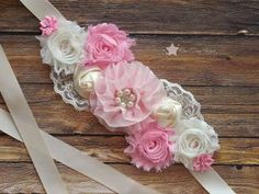 Maternity Sash, Baby Girl ...