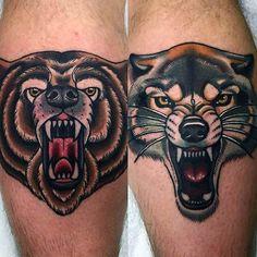 Awesome bear images - Part 2 - Tattooimages.biz
