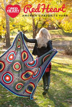 Red Heart is America's Favorite Yarn. Get the free afghan pattern in Super Saver yarn.
