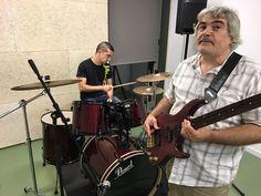 Raúl i Pere la part rítmica