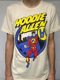 """Hoodie's Own Super Hero Design We're """"All About It"""""""