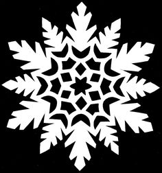 Paper Snowflake CUTTING PATTERN  20 by *whitneylunt on deviantART