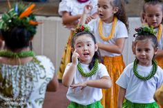A performance by Hula Hui 'O Kapunahala at Ward Warehouse, Honolulu; who can resist these tiny cuties? Photo by Chuck Little, Little Looks Photography.