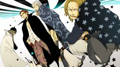 Red Haired Pirates Shanks Benn Yasopp Anime Wallpaper