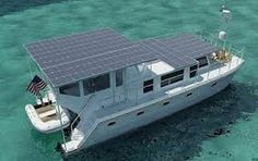#solar #panel #boat. No worries here of getting stranded or out of touch.