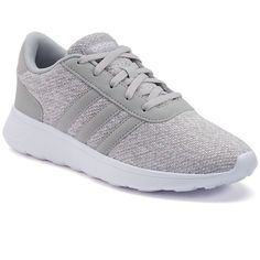 Adidas NEO Lite Racer Women's Shoes (77 CAD) ❤ liked on Polyvore featuring…