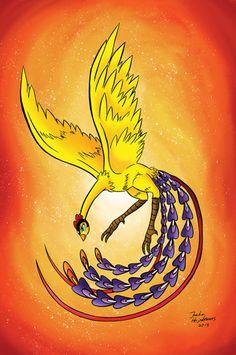 Hinotori created by Osamu Tezuka