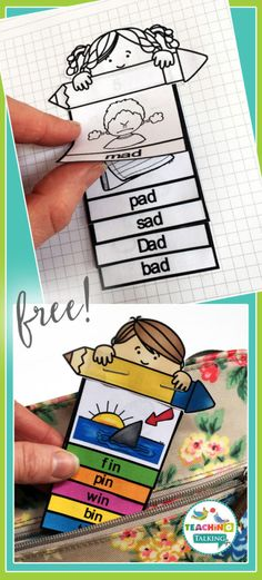 Articulation flip books - FREE for CVC words. Ideal for speech therapy homework! Print & Go Articulation Activities for Kids. Low Prep, quick and easy articulation printables. Articulation Therapy, Speech Therapy Activities, Speech Language Therapy, Language Activities, Literacy Activities, Speech And Language, Speech Pathology, Preschool Literacy, Language Arts