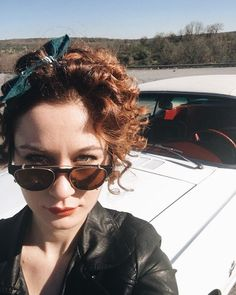 Red Hair, Pilot, Sunglasses Women, Actresses, Celebrities, Hair Styles, Fashion, Bern, Female Actresses