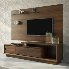 14+ Chic and Modern TV Wall Mount Ideas for Living Room | TVs, Tv ...