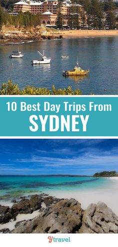 Planning to visit Sydney Australia and looking for ideas on day trips from Sydney? Here are the 10 best getaways from Sydney for all types of travelers. #Sydney #Australia #travel